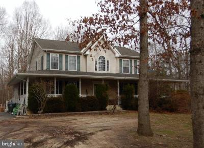 Franklinville Single Family Home For Sale: 2389 Coles Mill Road