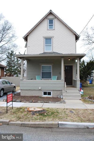 Westville Single Family Home For Sale: 117 Hunter Avenue