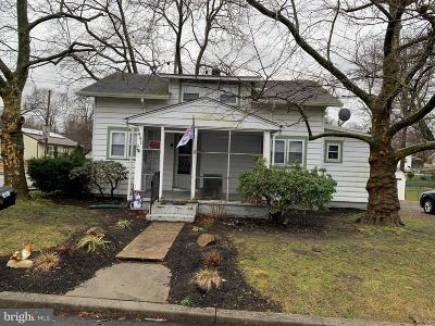 Deptford Single Family Home Active Under Contract: 1891 Point Pleasant