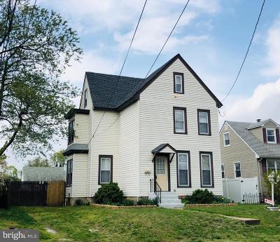 Paulsboro Single Family Home For Sale: 214 Billings Avenue