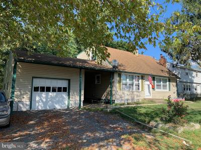 Glassboro Single Family Home For Sale: 11 Deptford Road