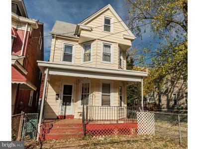 Trenton Single Family Home For Sale: 53 S Hermitage Avenue
