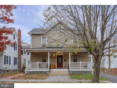 Hightstown Single Family Home For Sale: 118 Dey Street