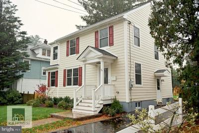 Princeton Single Family Home For Sale: 29 Wilton Street