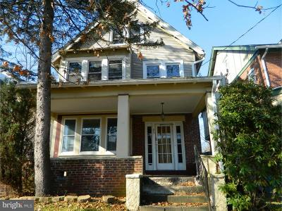 Trenton Single Family Home For Sale: 25 S Lenape Avenue