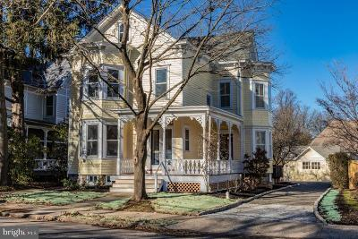 Pennington Single Family Home For Sale: 25 E Delaware Avenue