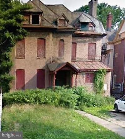Trenton Single Family Home For Sale: 615 Greenwood Avenue