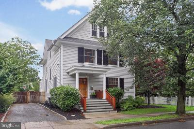 Princeton Single Family Home For Sale: 15 Linden Lane