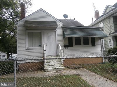 Trenton NJ Single Family Home For Sale: $146,999
