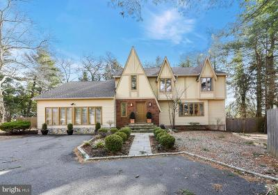 Princeton Single Family Home For Sale: 83 Mount Lucas Road