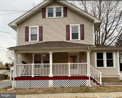 Hightstown Single Family Home For Sale: 158 1st