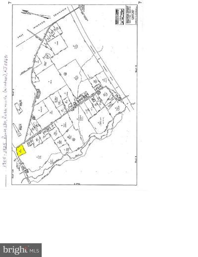 Robbinsville Residential Lots & Land For Sale: 1305 Route 130