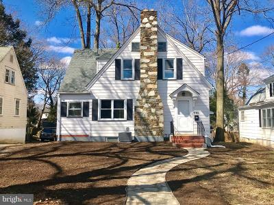 Ewing Single Family Home For Sale: 1193 Parkside Avenue
