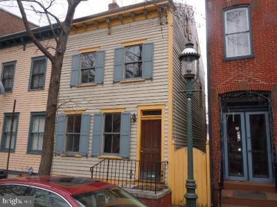 Trenton Townhouse For Sale: 244 Mercer Street