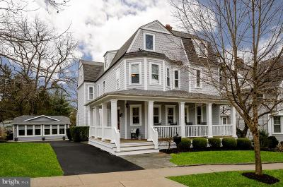 Princeton Single Family Home For Sale: 20 Murray Place