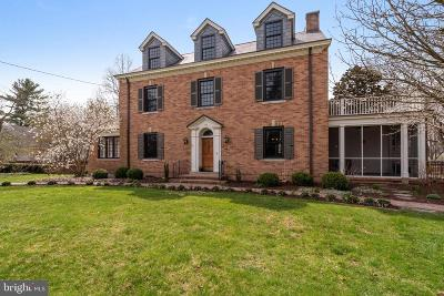 Princeton Single Family Home For Sale: 224 Jefferson Road