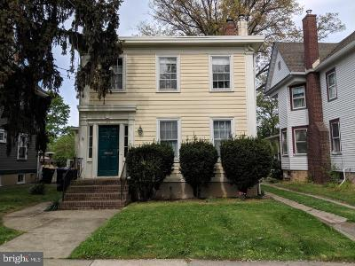 Hightstown Single Family Home For Sale: 356 Main Street S