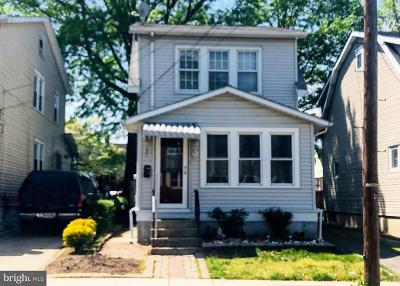 Trenton NJ Single Family Home For Sale: $185,000