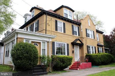 Trenton Single Family Home For Sale: 32 Newell Avenue