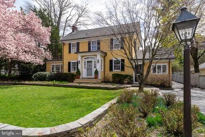 Princeton Single Family Home For Sale: 48 Cleveland Lane