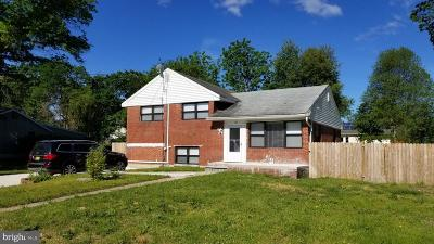 Trenton Single Family Home For Sale: 113 Lehigh Avenue