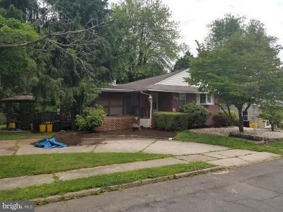 Ewing Single Family Home For Sale: 34 Main Boulevard