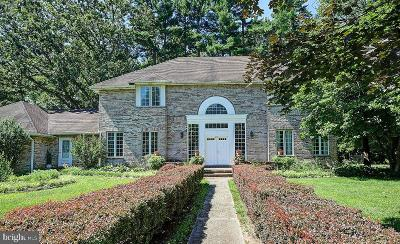 Ewing Single Family Home For Sale: 3 Mansion Hill Drive