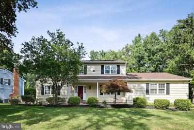 Princeton Junction Single Family Home For Sale: 4 Monterey Drive