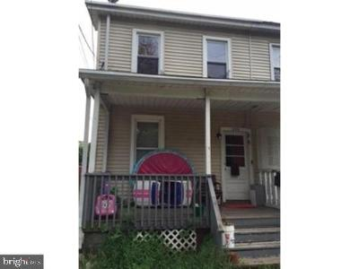 Hightstown Single Family Home For Sale: 205 Rogers Avenue