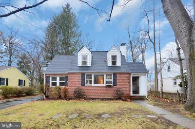 Princeton Junction Single Family Home For Sale: 24 Scott Avenue
