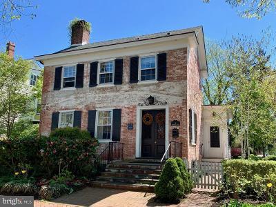 Cranbury Single Family Home For Sale: 6 N Main Street