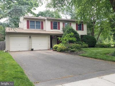 Plainsboro Single Family Home For Sale: 52 Parker Road