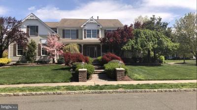 Cranbury Single Family Home For Sale: 22 Bergen Drive
