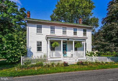 Cranbury Single Family Home For Sale: 92 Halsey Reed Road