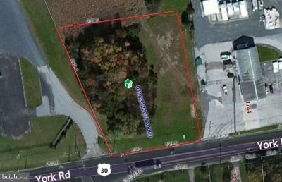 Gettysburg Commercial For Sale: York Road