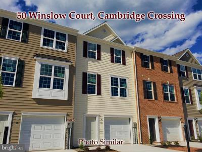 Gettysburg Townhouse For Sale: 50 Winslow Court