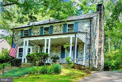 Single Family Home For Sale: 1611 Alsace Road