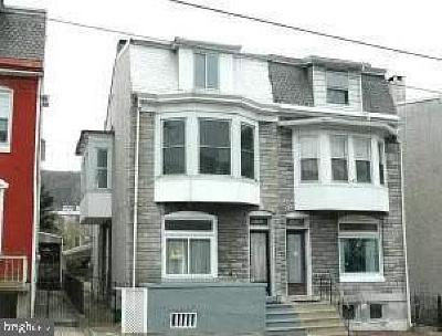 Single Family Home For Sale: 1820 Perkiomen Avenue