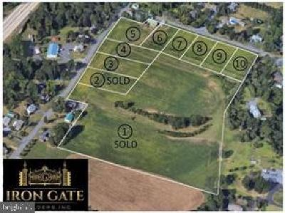 Single Family Home For Sale: Lot 4 Old Lancaster Pike