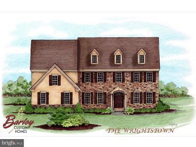 Bucks County Single Family Home For Sale: Lot 6 Kingfisher Lane