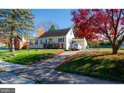 Bucks County Single Family Home For Sale: 407 Barclay Avenue