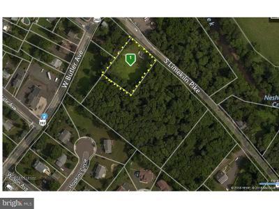 Bucks County Residential Lots & Land For Sale: 18 S Limekiln Pike