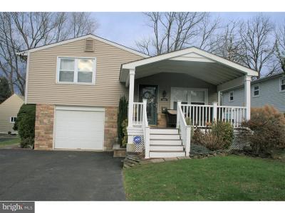 Warminster Single Family Home Under Contract: 509 Kalmia Street