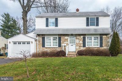 Warminster Single Family Home Under Contract: 1197 Victoria Road