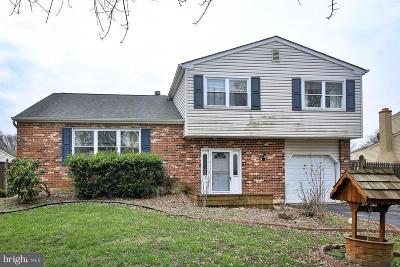 Bensalem Single Family Home Active Under Contract: 1523 Barn Swallow Drive