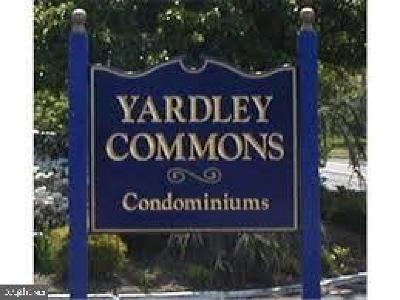 Bucks County Condo For Sale: 1101 Yardley Commons