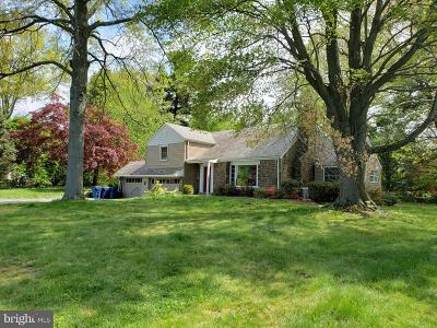 Yardley Single Family Home For Sale: 9 N Circle Court