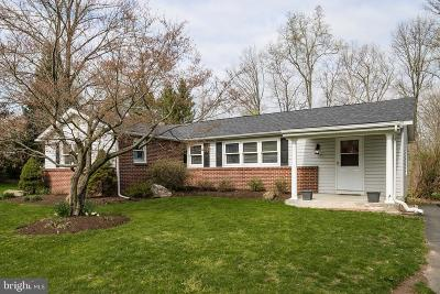 Bucks County Single Family Home For Sale: 6822 Old Easton Road