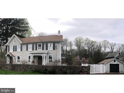 Bucks County Single Family Home For Sale: 5943 Carversville Road