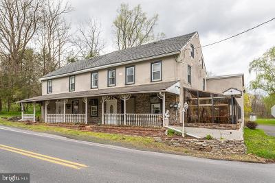 Bucks County Multi Family Home For Sale: 1750 Upper Ridge Road
